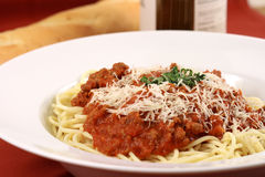 Gourmet exquisite pasta Royalty Free Stock Photography