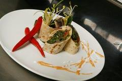 Gourmet falafel Stock Photo