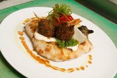 Gourmet falafel Stock Photos