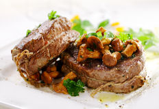 Gourmet fillet steak medallions Stock Photo