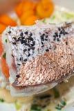 Gourmet Fish Food Royalty Free Stock Photos