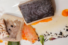 Gourmet Fish Food Royalty Free Stock Photography