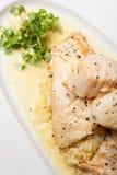 Gourmet Fish Food Stock Image
