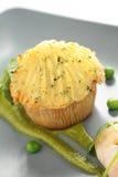 Gourmet- fiskpaj Arkivfoto