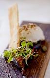 Gourmet foie gras Stock Photography