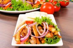 Gourmet foods Stock Images