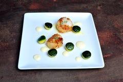 Gourmet French Dinner Stock Photo