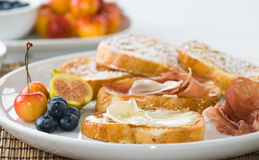 Gourmet French Toast Stock Image