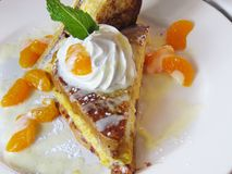 Gourmet french toast Royalty Free Stock Photo