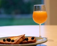 Gourmet French Toast Breakfast Stock Images