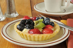 Gourmet fruit tart Royalty Free Stock Photo
