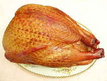 Gourmet fumé Turquie photographie stock