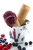Gourmet gelato Royalty Free Stock Image