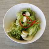 Gourmet green salad Royalty Free Stock Images