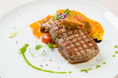 Beef steak entrecote Stock Image