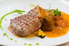 Beef steak entrecote Royalty Free Stock Photo