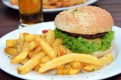 Gourmet hamburger Stock Image