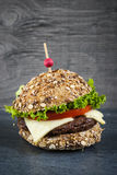 Gourmet hamburger Royalty Free Stock Photos