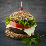 Gourmet hamburger Stock Photo