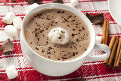 Gourmet Hot Chocolate Royalty Free Stock Photography