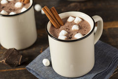 Gourmet Hot Chocolate Milk stock photography