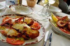 Gourmet- hummer Arkivfoto