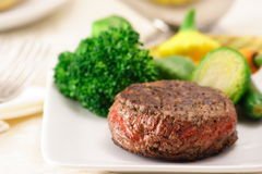Gourmet international  fillet. No one can resist this thick and juicy fillet Stock Photography