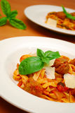 Gourmet italian food Royalty Free Stock Photos