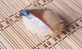 gourmet- japanska mackerelsabasushi Royaltyfria Foton