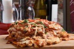 Gourmet lasagna Stock Photo