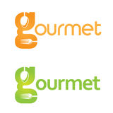 Gourmet logo Stock Images
