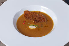 gourmet- mål Arkivfoton