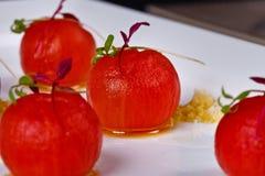 gourmet- mål Royaltyfri Foto
