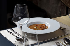 Gourmet meal Stock Image