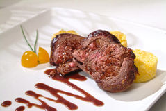 Gourmet meat dish Royalty Free Stock Photography