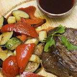 Gourmet meat - restaurant food Royalty Free Stock Photo