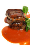 Gourmet meat, restaurant food Royalty Free Stock Photography