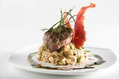 gourmet- meatstycke arkivfoton