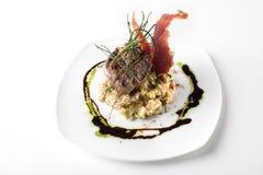 gourmet- meatstycke Royaltyfria Foton