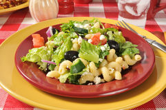 Gourmet Mediterranean Salad Stock Photography