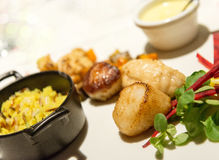 Gourmet menu Royalty Free Stock Image