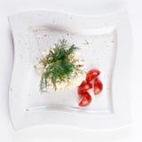 gourmet- mer olivier sallad Royaltyfri Foto
