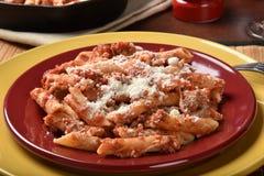 Gourmet Mostaccoli Stock Image