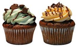 gourmet- muffiner Royaltyfria Bilder