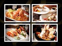 Gourmet occidental photographie stock libre de droits