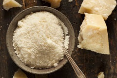 Gourmet Organic Parmesan Cheese Royalty Free Stock Images