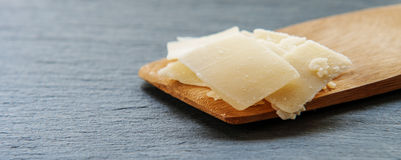 Gourmet Organic Parmesan Cheese Stock Images