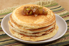 Gourmet pancakes Stock Image