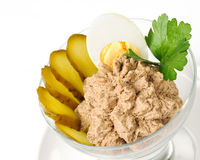 Gourmet pate salad Stock Photography