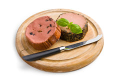 Gourmet pate Stock Photography